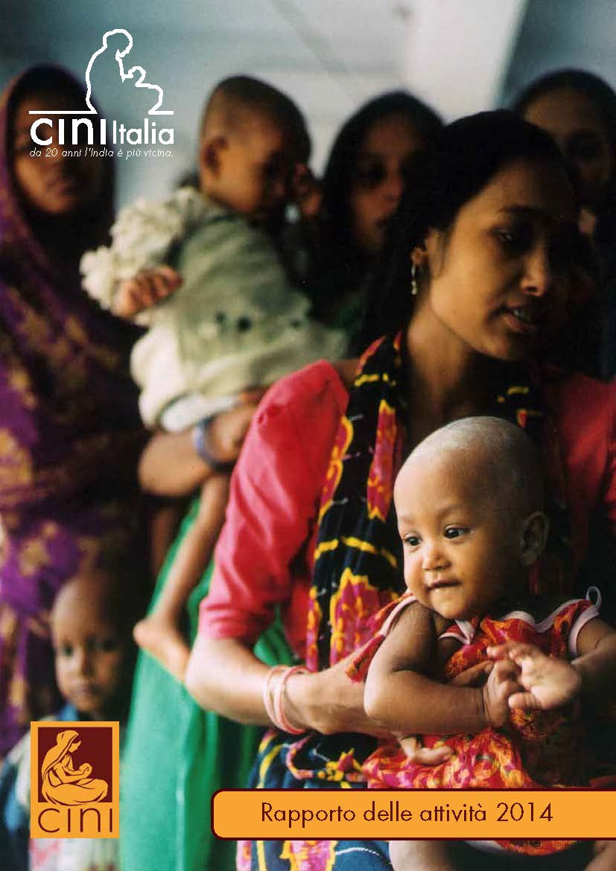 cini italia annual report 2014 Pagina 01