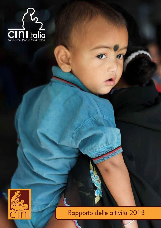 cini italia annual report 2013 Pagina 01