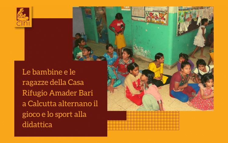 amader bari casa rifugio ragazze india calcutta cini