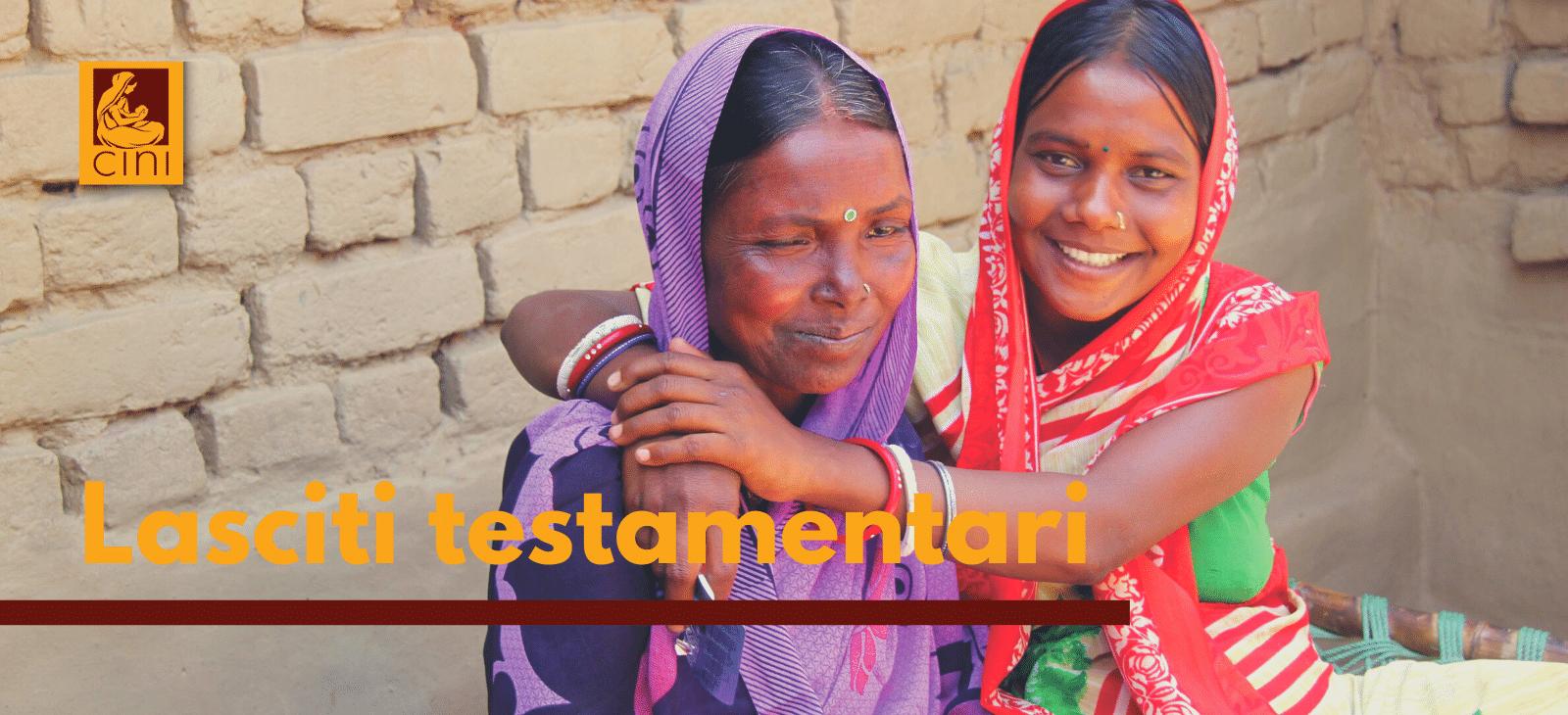 lasciti testamentari cini progetti umanitari india