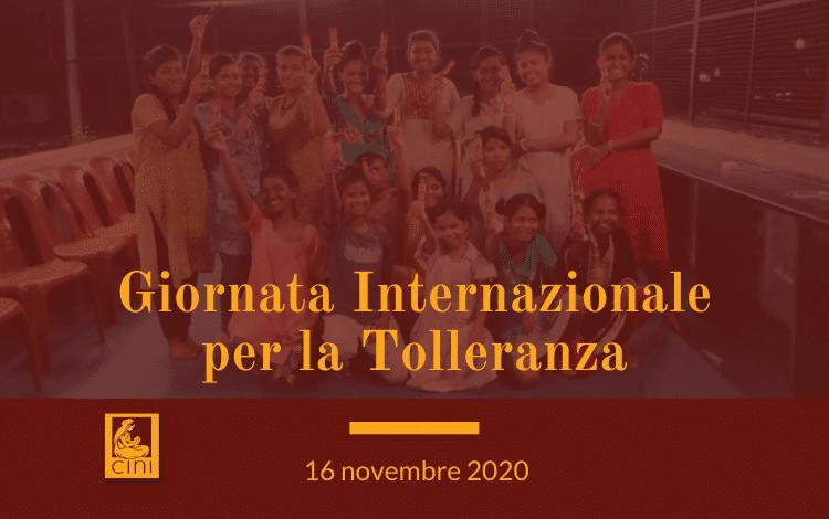 giornata internazionale per la tolleranza cini india