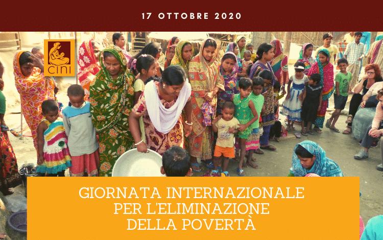 img blog cini giornata internazionale per l'eliminazione della povertà