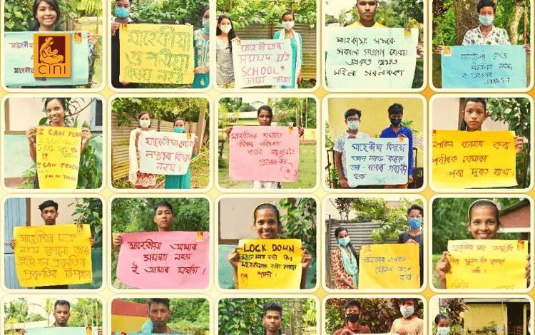cini india campagna informazione ciclo mestruale adolescenti