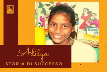 cini india storia di successo aditya scuola salute aids