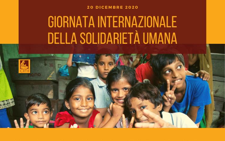 cini italia giornata solidarietà umana