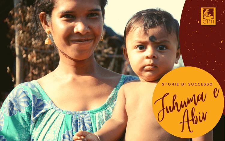 img blog cini storie di successo jhuma e abir malnutrizione india