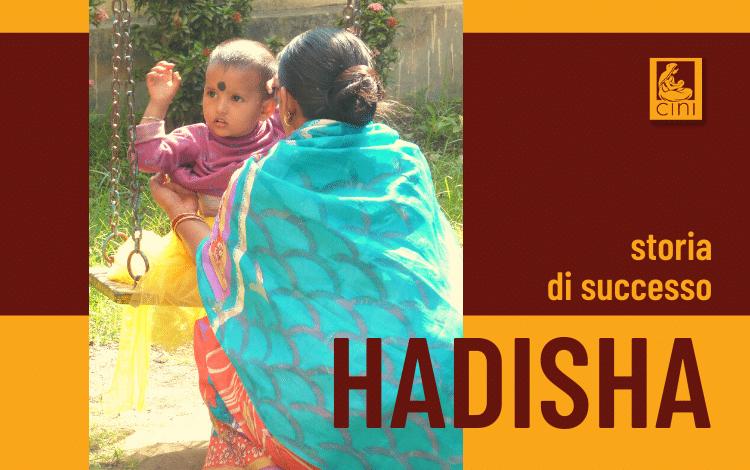 cini - img blog storia di successo hadisha mamma indiana salute adotta una mamma 1000 giorni insieme