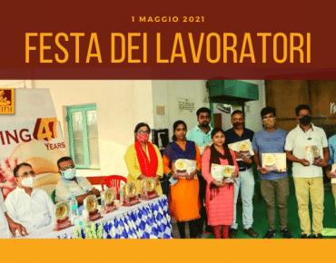 cini italia festa dei lavoratori riconoscimento opratori cini india sostegno progetti a distanza