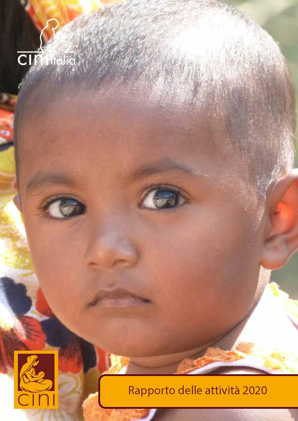 cini italia annual report attività organizzazione umanitaria child in need india
