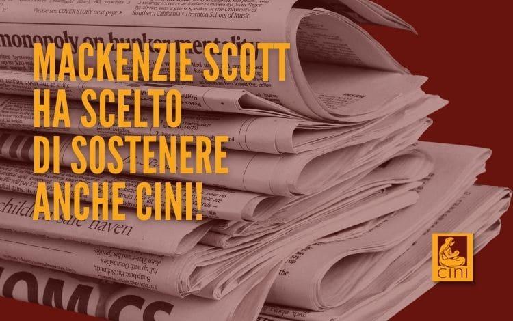 Donazione mackenzie scott cini italia