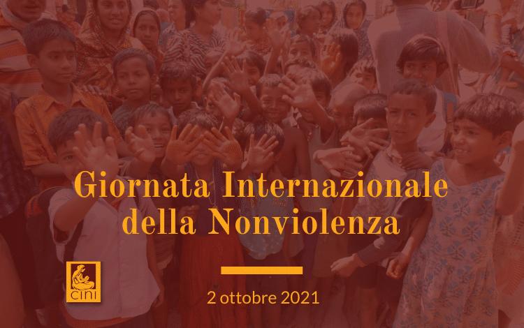 img blog cini giornata internazionale della nonviolenza cini italia 2 ottobre cini india